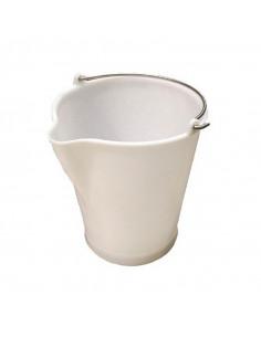 Cubo Blanco  10 lts  Asa...